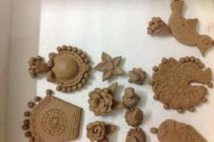 Terracotta Jewelry Workshop in Tambaram with all kinds of Baking Process Baking