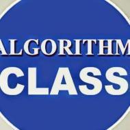Algorithm Class photo