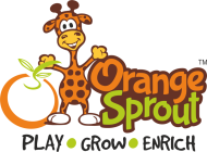 Orange Sprout . photo
