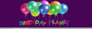 Birthday planet photo