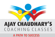 Ajay Chaudhary Classes Engineering Entrance institute in Ghaziabad