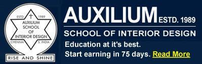 Auxilium School Of Interior Design In Egmore Chennai