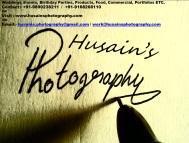 Husain's photo