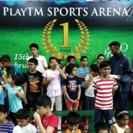Playtm Sports Arena Badminton institute in Bangalore