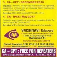 Vaishnava Acacadmy For Ca photo