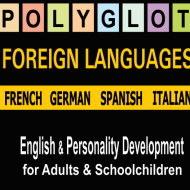 Polyglot Foreign Languages, English photo