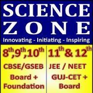 SCIENCE ZONE Class 8 Tuition institute in Gandhinagar