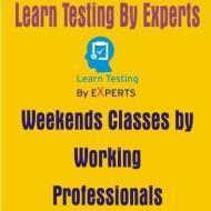 Learn Testing By Experts Software Testing institute in Noida