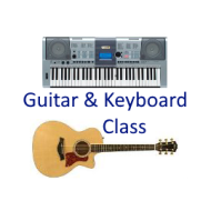 Guitar And Keyboard Class photo