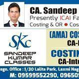 Sandeep Kumar Classes CA institute in Delhi