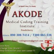 Akode Medical Coding Training Institute Medical Coding institute in Puducherry
