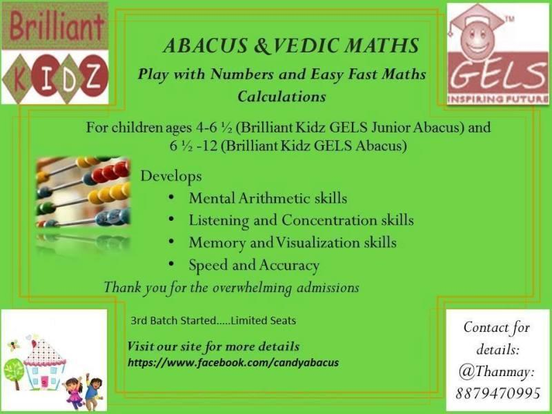 Abacus And Vedic Maths Classes In Vashi Mumbai