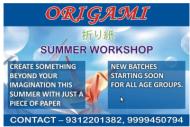 ORIGAMI MAGIC Art and Craft institute in Delhi