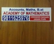 Academy of Mathematics Class 9 Tuition institute in Delhi