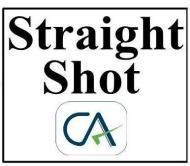 Straight Shot CA CA institute in Gurgaon