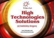 High Technologies Solutions Jagdish Deshmukh photo