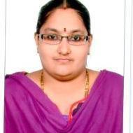 Priyanka V. BSc Tuition trainer in Chennai
