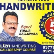 Liza Handwriting And Calligraphy Calligraphy institute in Ahmedabad