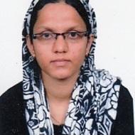 Aasifa A. Class 11 Tuition trainer in Chennai