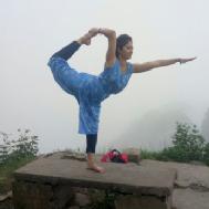 Monika M. Yoga trainer in Jaipur