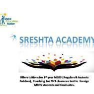 Shreshta Medical Education Academy MBBS & Medical Tuition institute in Hyderabad