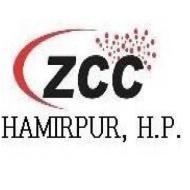 ZCC CATIA institute in Hamirpur