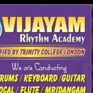 Vijayam Rhythm Academy Drums institute in Chennai