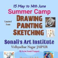 Sonali's Art Institute Drawing institute in Jaipur