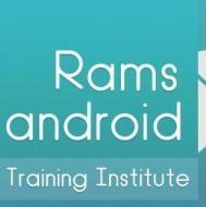 Rams Android Mobile App Development institute in Hyderabad