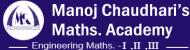 MANOJ CHAUDHARIS MATHS ACADEMY Engineering Entrance institute in Pune
