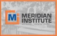 Meridian Institute photo