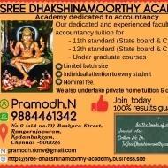 Pramodh Narayanaswamy Class 12 Tuition trainer in Chennai