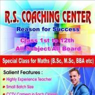 Rs Coaching Center BSc Tuition institute in Ghaziabad