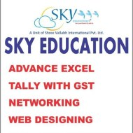 Sky Education Microsoft Excel institute in Jaipur