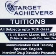 Target Achievers MBA Tuition institute in Sahibzada Ajit Singh Nagar