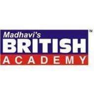 Madhavi's British Academy photo