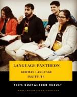 Language Pantheon German Language institute in Delhi