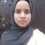Zainab R. Class 8 Tuition trainer in Bangalore