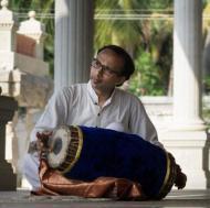 Adamya Ramanand Mridangam trainer in Bangalore