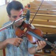 Shintoj Joseph Violin trainer in Vaikom