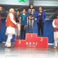 Renu A. Yoga trainer in Delhi