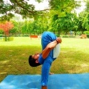 Pankaj Pandey yoga instructor photo