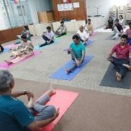 Padmanaban Yoga trainer in Chennai
