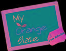 My Orange Slate photo