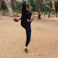 Shiva Kumar Self Defence trainer in Hyderabad