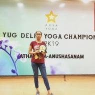 Garima R. Yoga trainer in Delhi