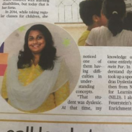 Ashwini Subbarayan Special Education (Learning Disabilities) trainer in Chennai