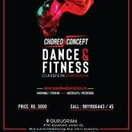 Choreo N Concept Dance & Fitness Studio Zumba Dance institute in Sector 45