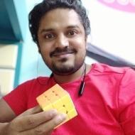 Vivek Prasad Mada Rubik's cube trainer in Bangalore