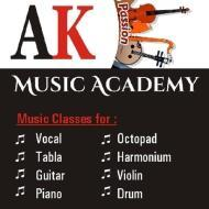 AK Music Academy Guitar institute in Ahmedabad